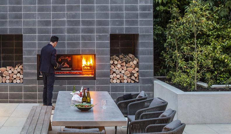 ESCEA EK SERIES Wood Outdoor Fire Hearth House