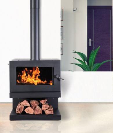 BLAZE B600 Series Hearth House Wood Fire