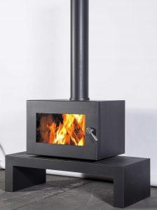 Blaze B605 Series Wood Fire Hearth House